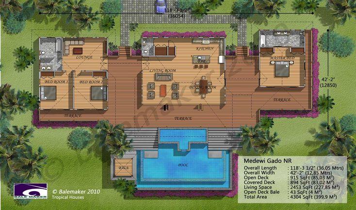 Balemaker Design Page Tropical House Design Tropical House Plans Modern Tropical House Small house design tropical