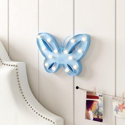 """Trule Teen Alston Butterfly 10 """"candeeiro de mesa"""