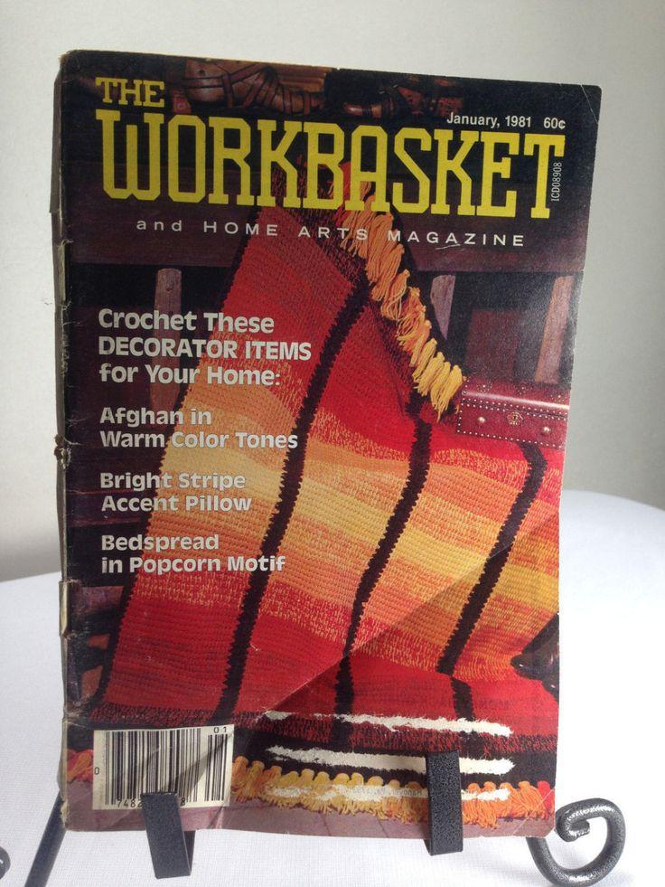 Vintage The Workbasket Magazine January 1981 by OddlyandVintage on Etsy