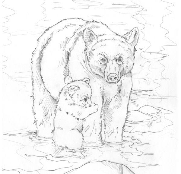 31 besten Malvorlagen Wildtiere Bilder auf Pinterest   Malbücher ...