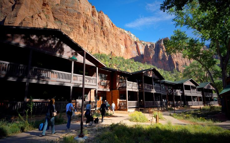 Zion Lodge, Zion National Park, UT: This is the only lodging option that puts you inside Zion National Park. Western-style 1920s cabins combine fir flooring and oak-and-wicker dressers with modern amenities like 300-count cotton sheets.
