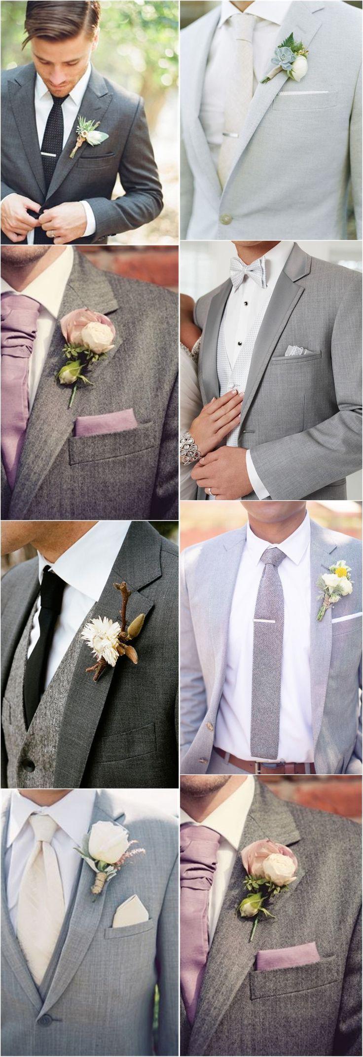 Hochzeitsideen »Bräutigam» 36 Bräutigam-Anzug, der Ihre einzigartigen Stile