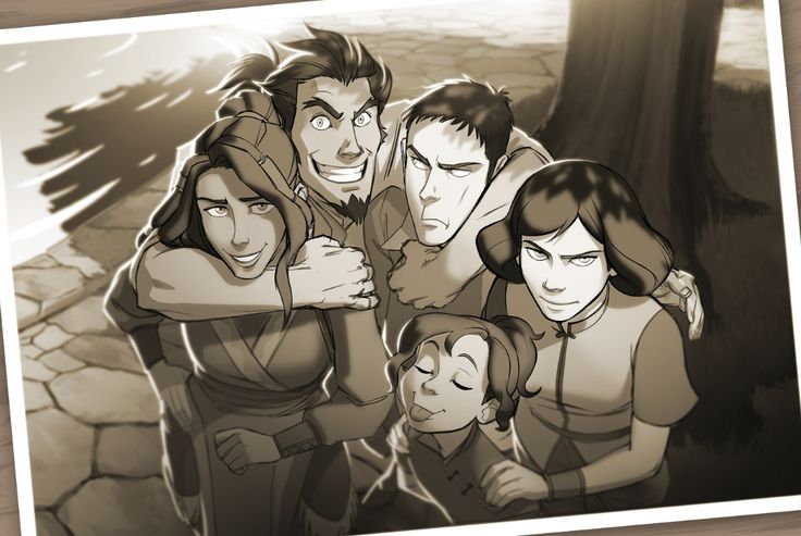 Legend of Korra: group photo! <- these dorks TOTALLY need their own show or graphic novel or something