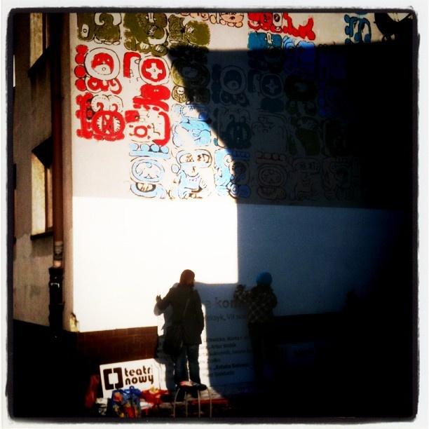 Day 5, last. #maya #mural #cracow #2012 #graffiti #streetart