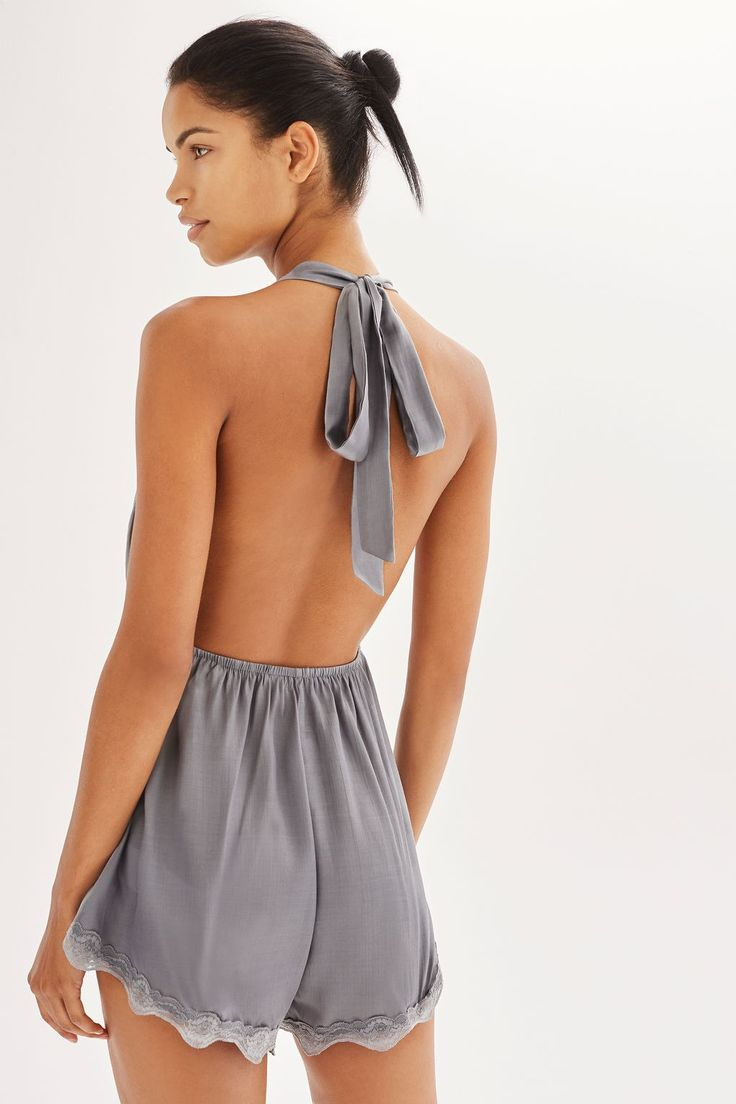Silver Playsuit by Somedays Lovin'   Topshop