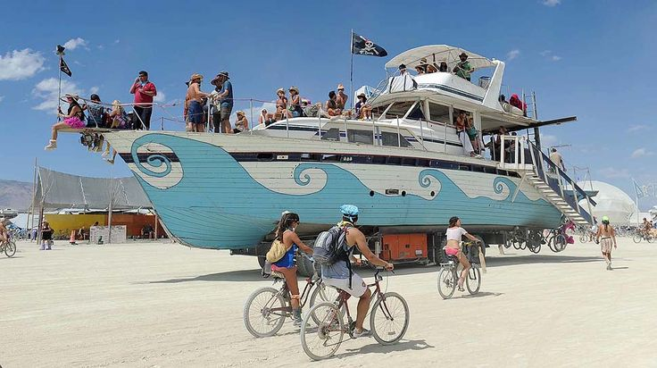 Burning Man is an annual art event and temporary community based on radical self expression and self-reliance in the Black Rock Desert of Nevada.