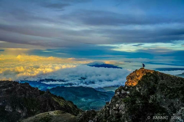This is the only place where at sunrise, you can see both the Pacific and Atlantic ocean and it only lasts a while. Volcan Baru in Chiriqui, Panama