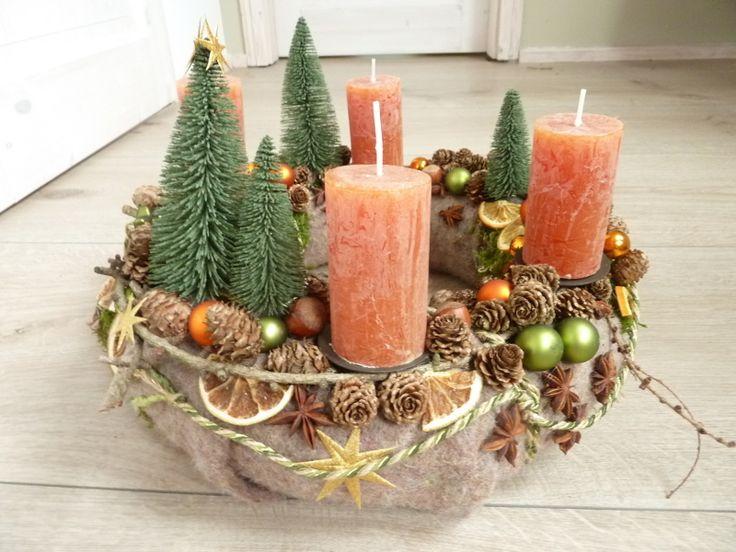 die besten 25 weihnachtlich dekorieren mit naturmaterialien ideen auf pinterest weihnachtlich. Black Bedroom Furniture Sets. Home Design Ideas