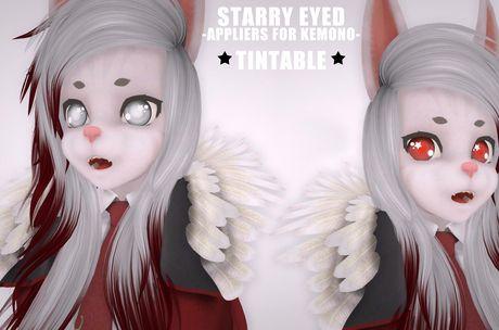 Second Life Marketplace - [b][s] Kemono - Starry Eyed