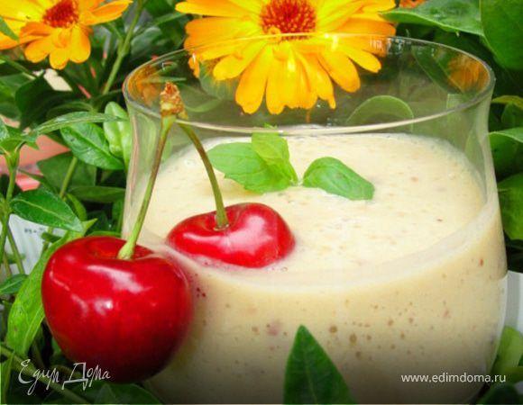 Cherry, Cherry Lady. Ингредиенты: бананы, манго, сахар коричневый