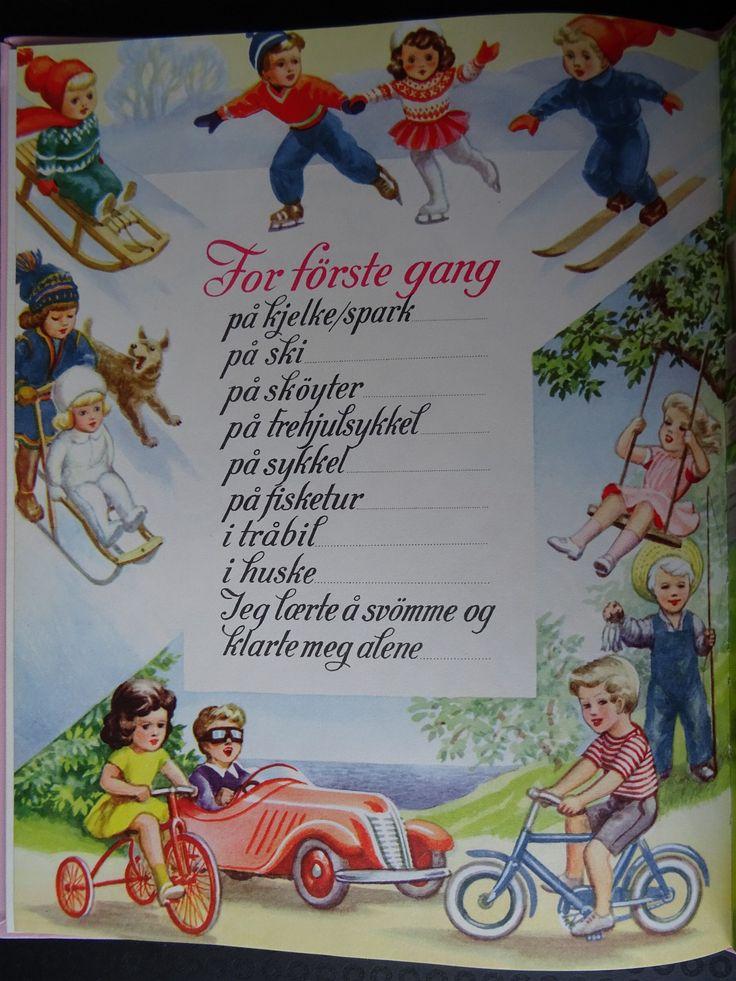 (19) Harald Damsleth - min aller første bok fra 1953 | FINN.no