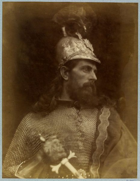 King Arthur by Julia Margaret Cameron, England, 1874 l Victoria and Albert Museum #Photography