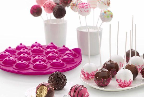 Moldes para hacer cake pops