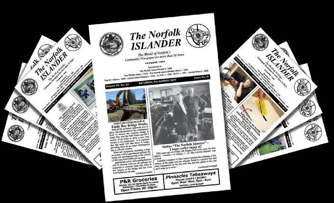 The Norfolk Islander Newspaper