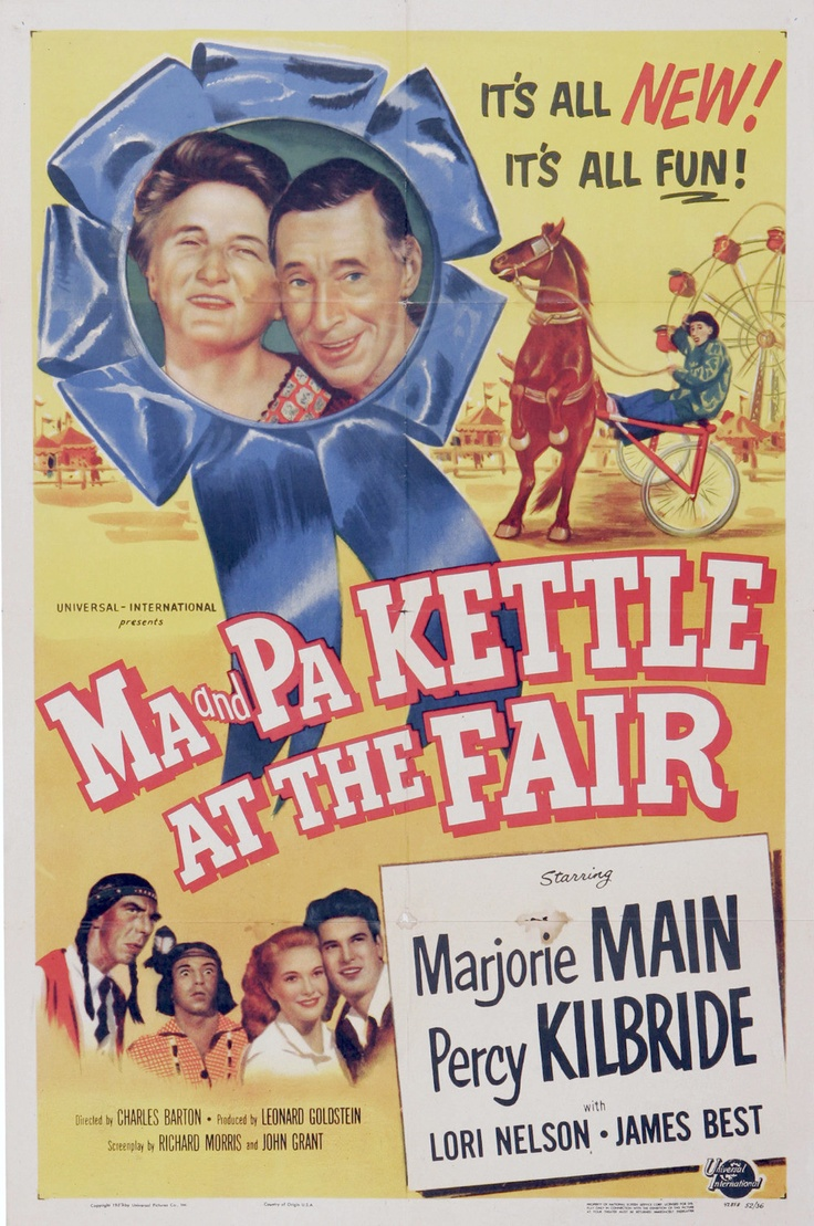 Ma and Pa Kettle at the Fair posters for sale online. Buy Ma and Pa Kettle  at the Fair movie posters from Movie Poster Shop. We're your movie poster  source ...