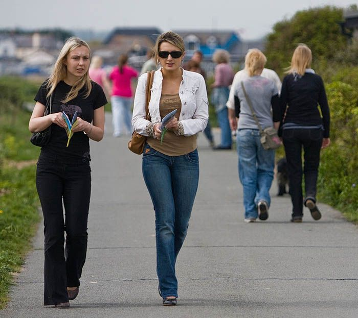 women walking MarekLenik The Road Less Traveled: Why Walking Parties Should Be the New Social Craze