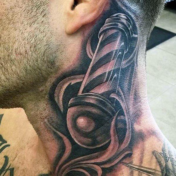 100 Barber Tattoos For Men - Masculine Design Ideas