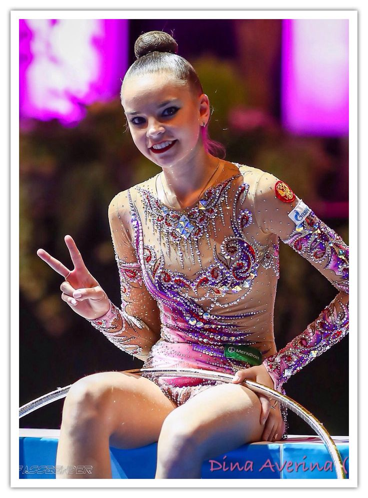 Dina AVERINA (Russia) ~ Hoop @ Masters Berlin 07/'16 ❤️❤️ @ Kiss Zone  & Cry Zone   Photographer Ulrich Fassbender.
