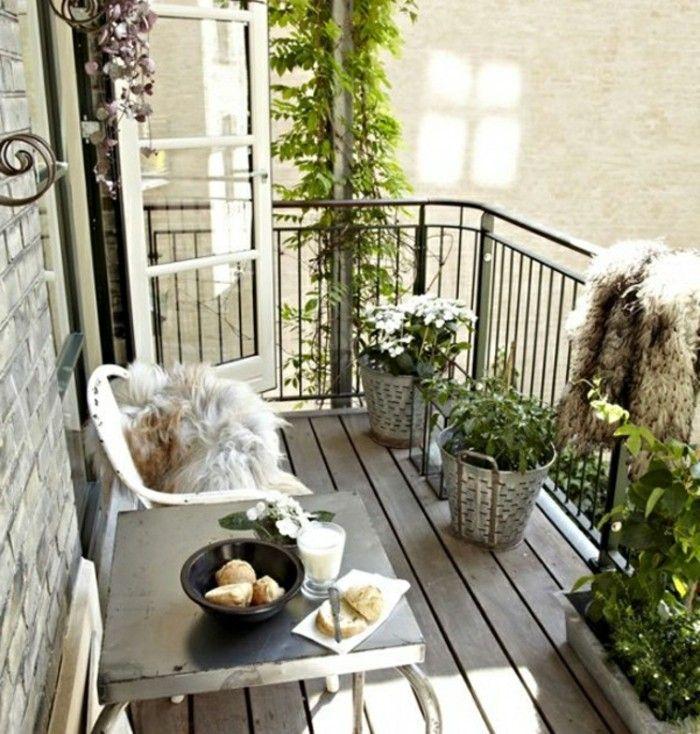 283 best balcons images on pinterest for Jardiniere double pour balcon