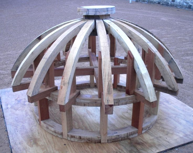 The Guard House Dome S Frame Shows Greenway S Unusual