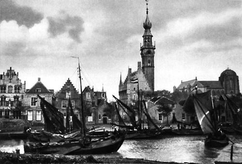 Veere, Netherlands, 1943
