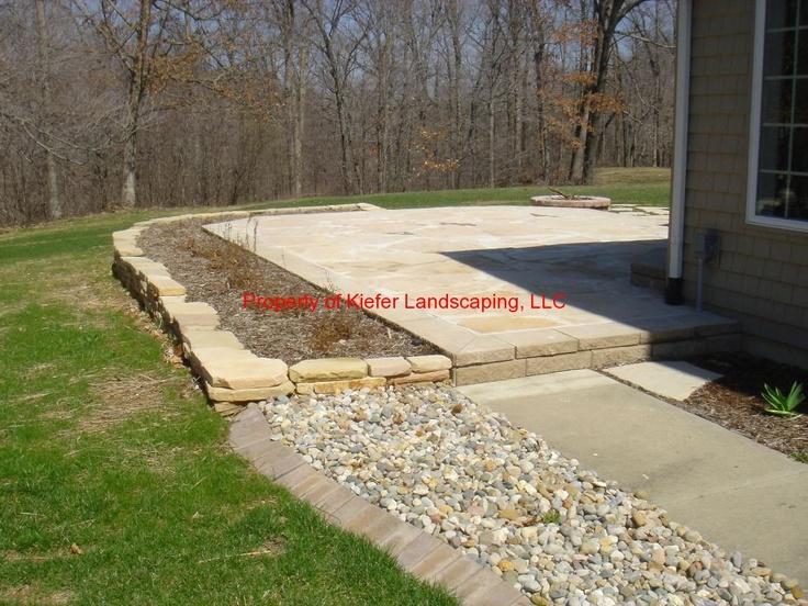 Natural Stone Patio/ Natural Stone Edging