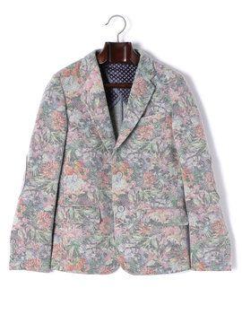 メンズ GABARDINE & More JEY COLEMAN フラワー柄 ノッチドラペルテーラードジャケットの商品詳細。クラシックをベースに遊び心を取り入れた最新のイタリアンモードを追求する、クリエイティブなブランド「JEY COLEMAN」。ミラノを中心に店舗を展開し、ファッション感度の高い人々に広く支持されています。休日の大人カジュアルにおすすめしたい、ハイクオリティなコレクションをぜひお確かめください。
