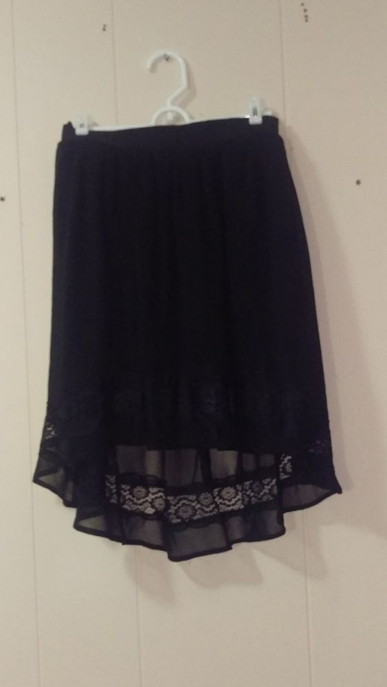 Doe & Rae Forever 21 Black High Low Skirt Size Small Size 4 | Clothing, Shoes & Accessories, Women's Clothing, Skirts | eBay!