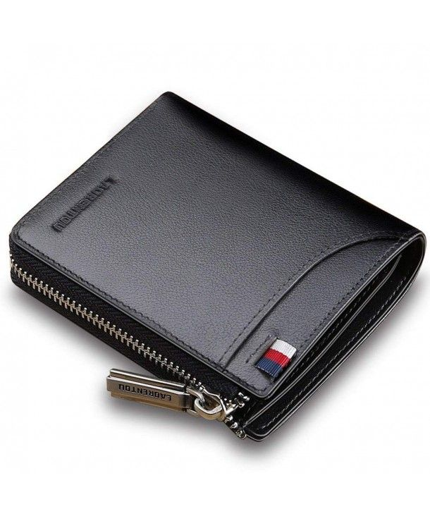 BRAND NEW GENUINE LEATHER MENS SOFT WALLET BANK CARD HOLDER COIN MONEY BAG PURSE