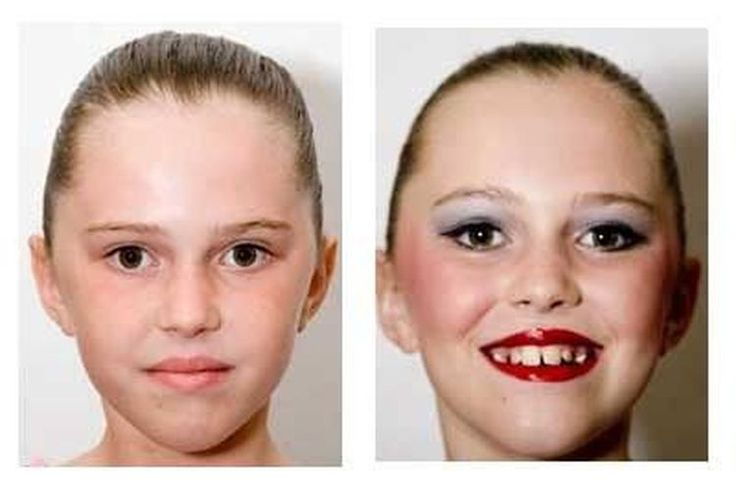 A Tutorial for Young Dancers to Help Learn How to Apply Stage Makeup