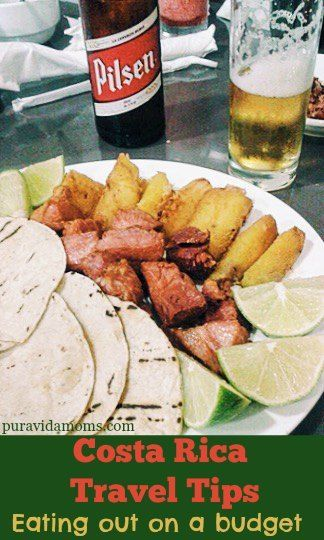 Without these money saving tips, eating out in Costa Rica can get pricey.