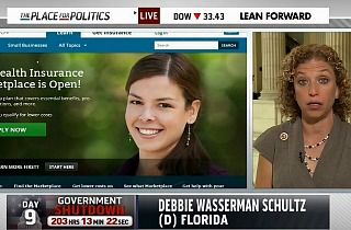 Debbie Wasserman-Schultz's Shocking, Insufficient, Rambling Response to MSNBC on Obamacare Enrollees