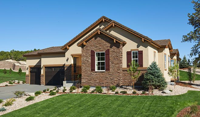You can t help but notice this remarkable ranch style plan for Castle rock builders