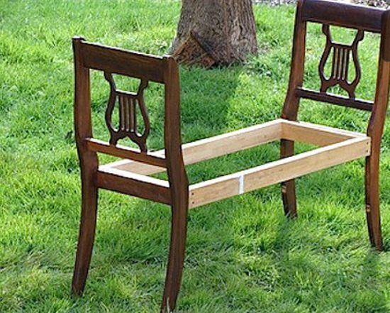 Unique Furniture Design Ideas Making Creative Use of Old Wooden Furniture Items
