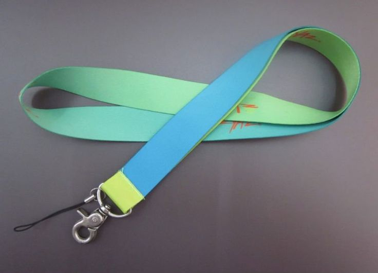 These promotional lanyards are available in a wide range of colors and materials and are made from cotton, nylon and polyester.