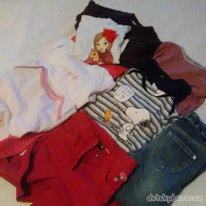 Dívčí oblečení-sada za 500 Kč | Detskybazar.cz