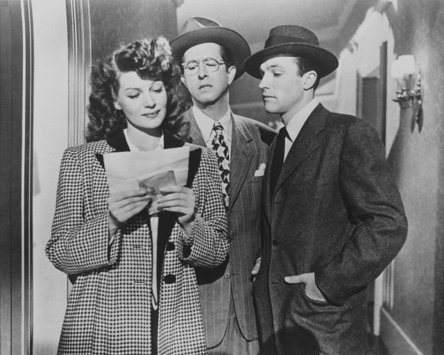 Rita Hayworth, Gene Kelley and Phil Silvers in Cover Girl