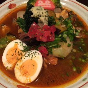 吉柳 - チキン&あさりスープカレー ¥1.050