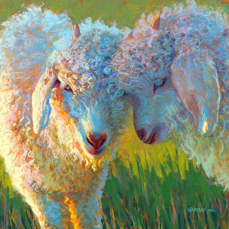 543 best acrylic animals images on pinterest animales for Animal oil paintings