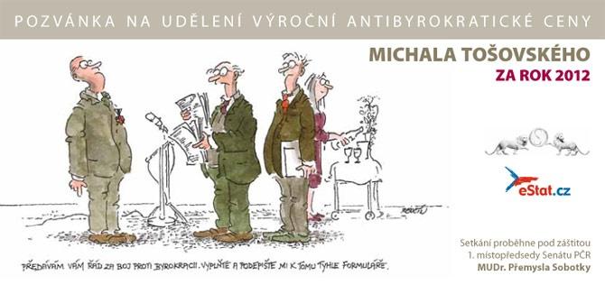 Antibyrokratická cena Michala Tošovského 2011
