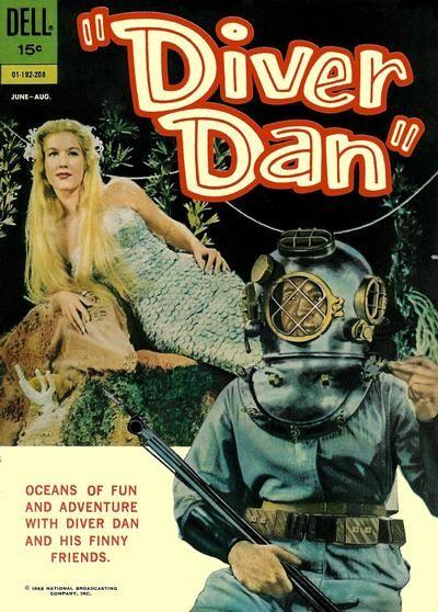 Cover for Diver Dan (1962 series) #2
