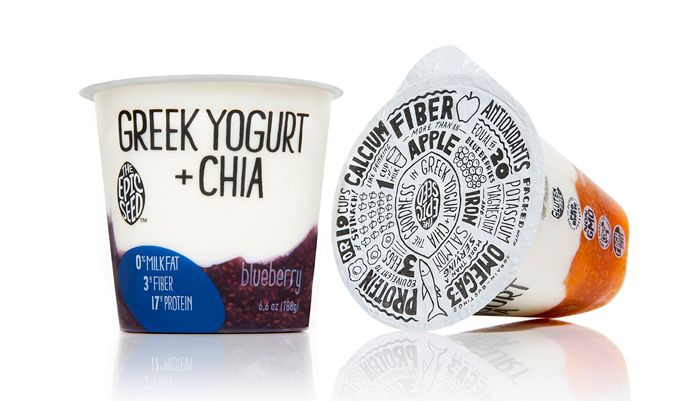 The Epic Seed, combining the goodness of Greek yogurt with on-trend superfood chia