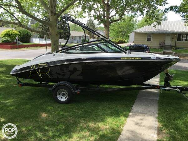 Excellent condition! Like New! A great Jet boat. This Yamaha boat comes with a trailer.