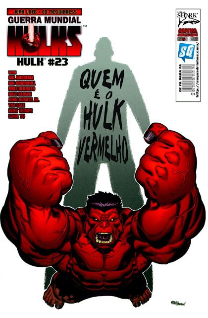 SAM-COMICS: Guerra Mundial Hulks 09 - Quem é o Hulk Vermelho