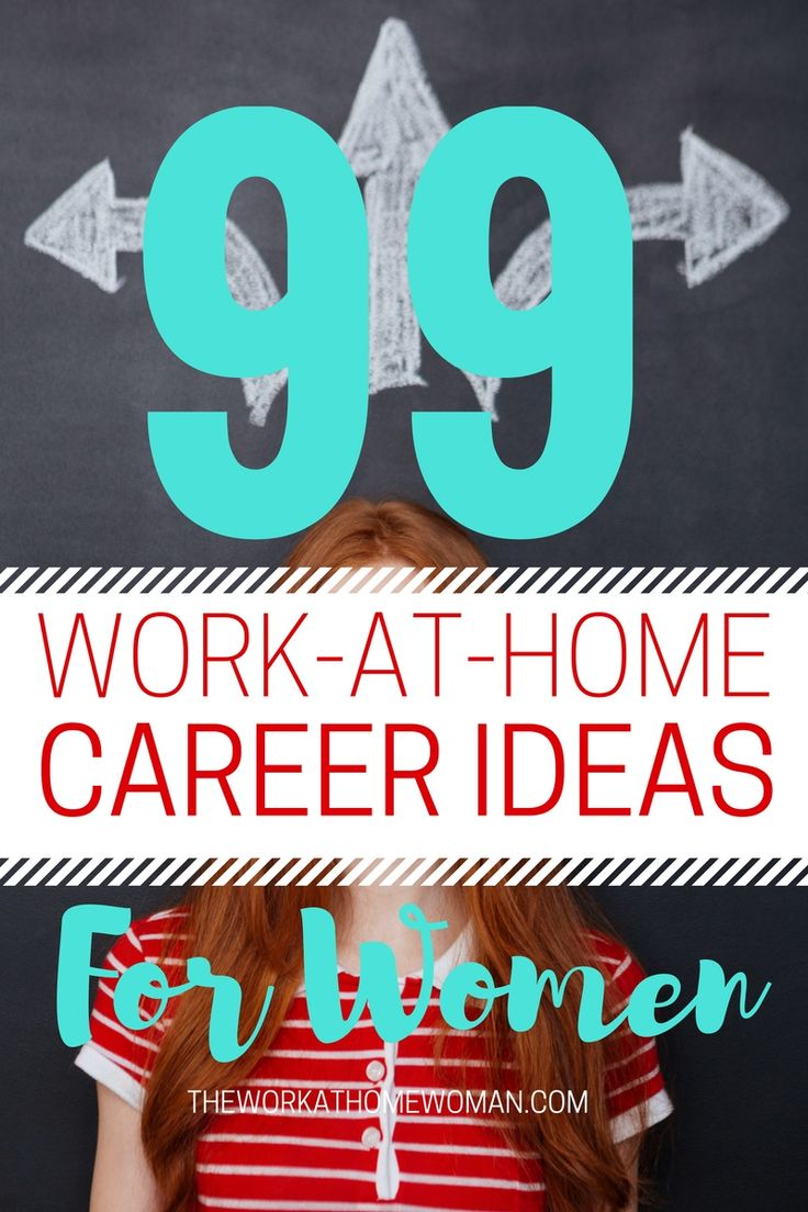 This list is awesome! There are 99 legit work at home ideas to get your creative juices flowing.