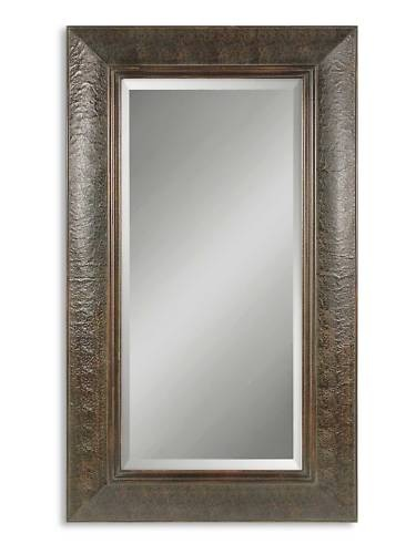 Full Length Leather Wood Wall Standing Mirror 40 5x70 5 | eBay