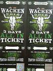 #Ticket  1 Wacken Ticket 2016 3 Tage 3 Days All In Ticket #Ostereich