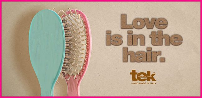 Love is in the hair. Never forget.