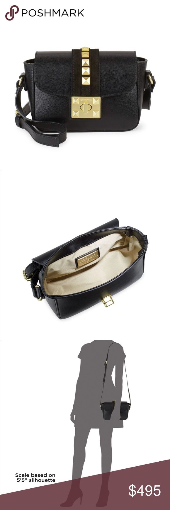 Valentino by Mario Valentino Crossbody Handbag 💯% Authentic  Brand New with Tag Retail: 895 Purchase from Saks Fifth Avenue Valentino Bags Crossbody Bags