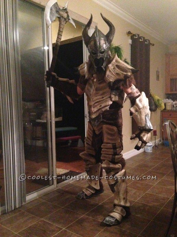Skyrim Dragonbone Armor Costume - 1
